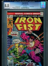 Iron Fist #7 CGC 8.5 (1976) Angar Chris Claremont John Byrne White Pages