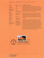 #0929 79c Zion National Park Stamp #C146 Souvenir Page