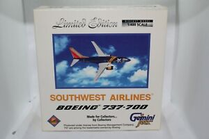 Gemini Jets Southwest Airlines 1:400 Limited Edition Boeing 737-700 GJSWA319