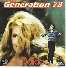 45TOURS  /  DALIDA   GENERATION 78