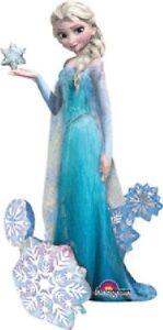 "57"" Frozen Elsa the Snow Queen Airwalker Foil Balloon Party Decorating Supplies"