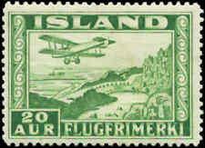 Iceland  Scott #C16a Mint Perf 14