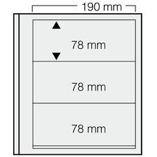 Safe Dual Blankoblätter 613 (VE = 5 Blatt) Neuware (BL 3