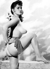 1960s Big Breasted Model Rosina Revelle 8 x 10 Photograph