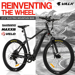【EXTRA15%OFF】VALK Electric Bike eBike Motorized Bicycle Mountain Battery