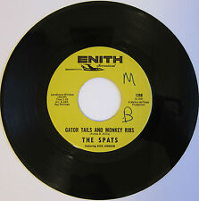 The SPATS: Gator Tails and Monkey Ribs / The Roach - Frat Rock-R&B on Enith VG+