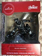 2020 Hallmark Red Box Christmas Tree Ornament Marvel Avengers Black Panther- New
