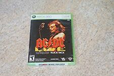 AC/DC Live: Rock Band Track Pack  (Xbox 360, 2008) Brand New SEALED