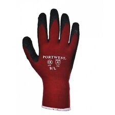 Portwest A140 Thermal Latex Palm Coated Grip Glove - Various Colours