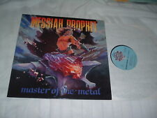 MESSIAH PROPHET Master Of The Metal '86 LP ORIG US press Christian power MINT-