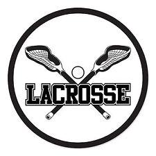 Lacrosse Cutout - White/Black