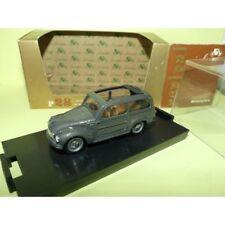 FIAT 500 C BELVEDERE 1951-1955 Gris BRUMM R28 1:43
