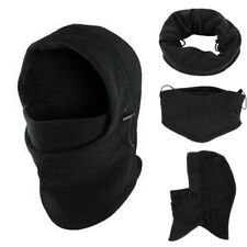 6 In1 Neck Balaclava Winter Face Hat Fleece Hood Ski Mask Warm Helmet Cuddly