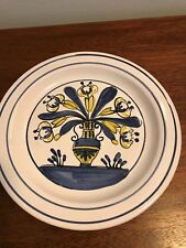 "ANTIQUE FRENCH FAIENCE 8 1/4"" PLATE"