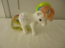 Vintage Mi Pequeño Pony/MLP-G1-Confeti Arco Iris - 1983 Hong Kong