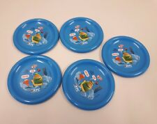 5 X KFC Plastic Plates Oasis Drink Advertising Collectable Promotion France VGC