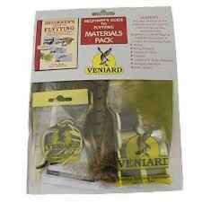 FLY TYING:  VENIARD BEGINNERS FLY TYING MATERIALS KIT