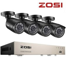 More details for zosi home security camera cctv system kit 8ch 1080p hdmi dvr 3000tvl outdoor hd