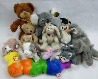 TY Beanie Babies - Soft Cuddly Toys Job Lot Puppet Bear Russ Berrie Althans Club