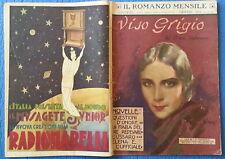 IL ROMANZO MENSILE 1931 - XXIX N. 6 Viso grigio - Rohmer 11/17