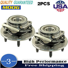 Moog 2 Front Wheel Bearing Hub Assembly Pair for 00-04 Ford F-150 4x4 with 5 Lug