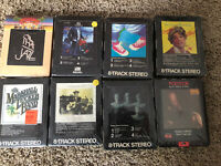 Sealed 8 Track Tapes - You Choose One