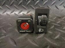 2005 PEUGEOT 407 SW 2.0 HDI 5DR PASSENGER AIRBAG & HEADLIGHT ADJUSTER SWITCHES