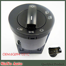 New Head Light Headlight Fog lamp Switch Master For VW Polo 2002-2009 6Q0941531C