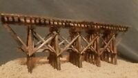 N SCALE TRAIN CAR TRACK DETAIL BRIDGE ATLAS ATHEARN CORNERSTONE MTL RH WEATHERED