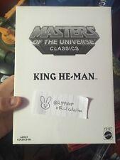 King He-Man - Exclusive - Masters of the Universe Classics MotU MoC Matty He-ro