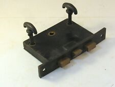 Rare Antique Corbin Lockset with Double Lock and Thumb Turns Works Great