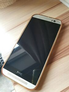HTC One M8 - 16GB - silver  (O2) Smartphone