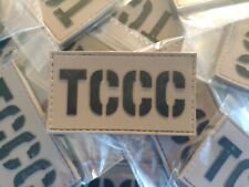 TACTICAL COMBAT CASUALTY CARE (TCCC) 2D PVC PATCH - COYOTE
