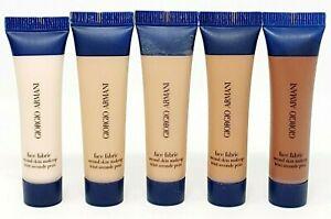 Giorgio Armani Foundation Face Fabric Second Skin Makeup - Choose A Shade