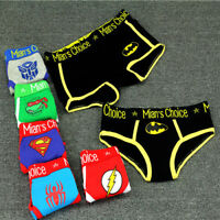 Women Cute Cartoon Boyshort Pure Cotton Brief Girls' Sport Panties Underwear
