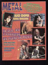 METAL SHOCK 171/1994 L7 ALICE COOPER AEROSMITH LAROXX MONSTERS OF ROCK DONINGTON