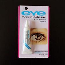 1PC Womens Clear White Waterproof False Eyelashes Makeup Eye Lash Adhesive Glue