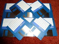 "10x 3.5"" Floppy Disks, Blank Discs for Amiga Atari DSDD"