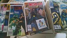 from Avengers Captain America NOMAD Comic lot 1-4 1-25 VF+ bagged boarded