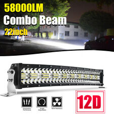 1440W 22inch LED Light Bar Combo Work Offroad Driving UTE Truck SUV 4WD Boat 24""