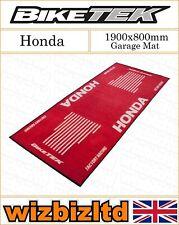Red & White 1900x800mm Honda Garage Mat GRGMAT42