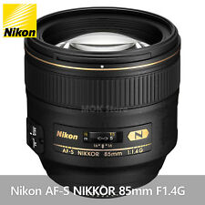Genuine Nikon AF-S NIKKOR 85mm F1.4G - Retail box/ Free Fedex