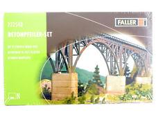 Faller 222548 Betonpfeiler Bausatz Modellbahn N NEU in Folie OVP 1605-11-03