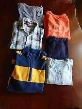 Boys Size 8 fall Back to School  Clothes Lot GapKids One Cherokee 6 Pieces
