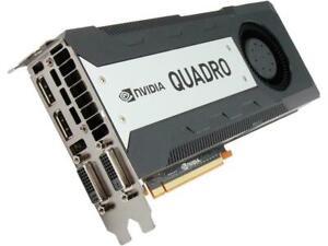 HP NVIDIA QUADRO K6000 12GB GDDR5 2880 CUDA Graphic Card 713207-002 Working