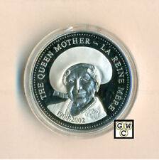 2002 Queen Mother Proof Silver Dollar (10649) (OOAK)