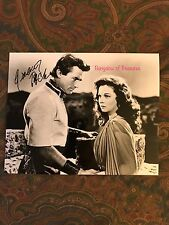 "GREGORY PECK ""David and Bathsheba"" signed 10 x 8 movie photo ~ SUSAN HAYWARD"