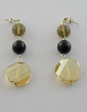Swarovski Crystal Drop Earrings with 925 Sterling Silver
