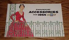 1955 Chevrolet Accessories Sales Brochure 55 Chevy