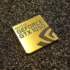 Nvidia GEFORCE GTX 1050 PC Logo Label Decal Case Sticker Laptop Badge [427]